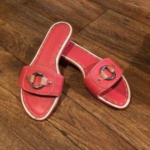 Cole Haan Nike Air Sandal 5 Red